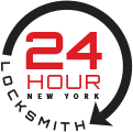 24 Hour Locksmith New York Logo